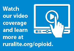 Watch our video coverage and learn more at ruralite.org/opioid